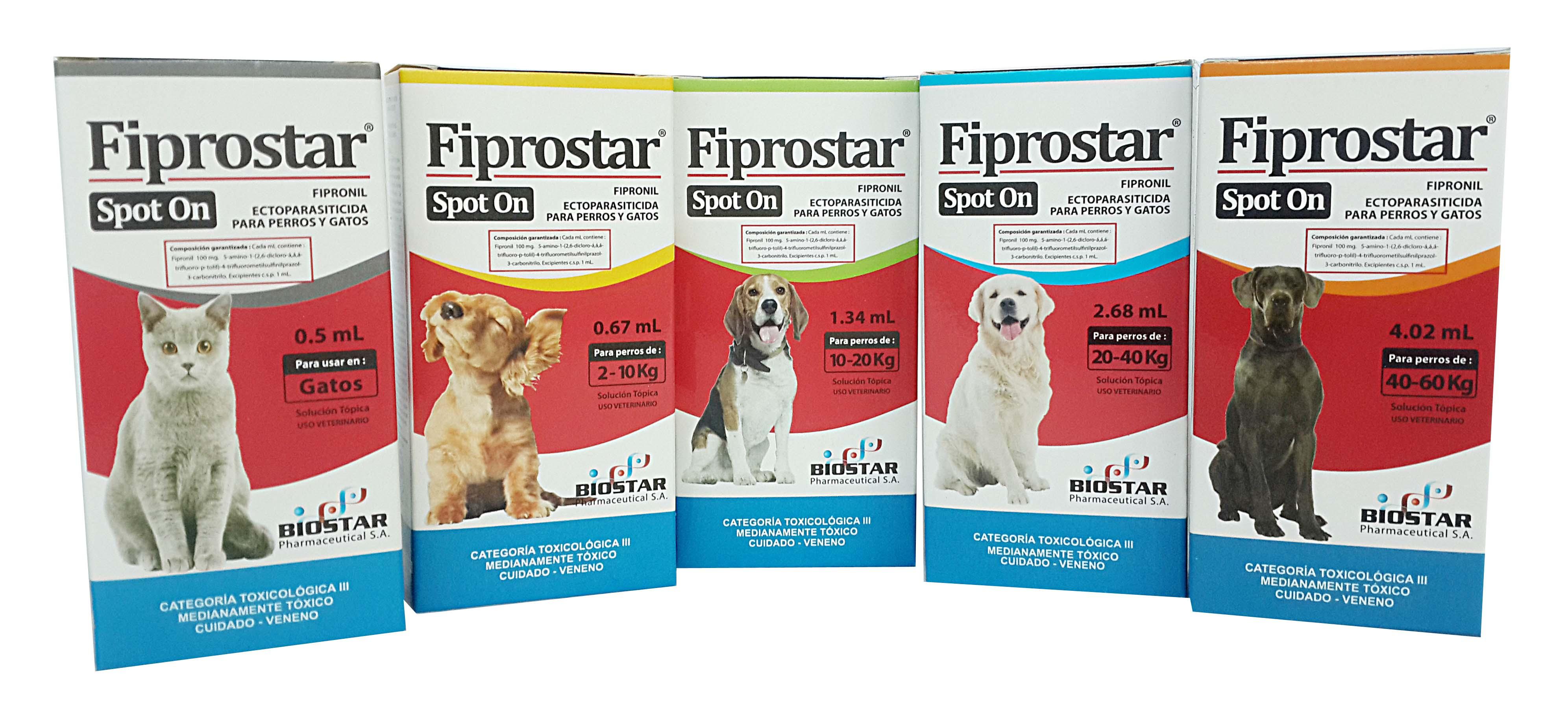 Fiprostar spot on