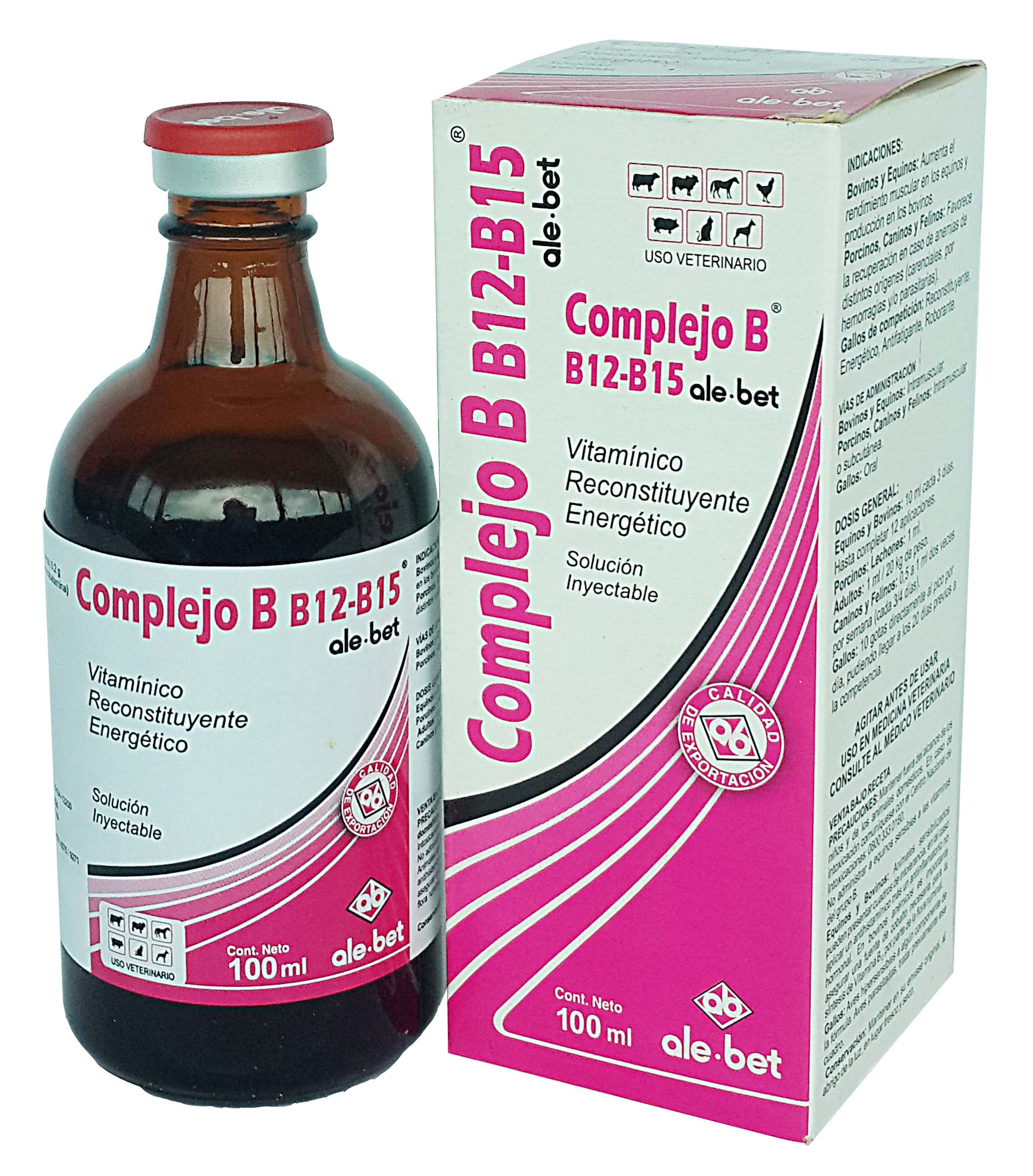 Complejo B12-B15 inyectable